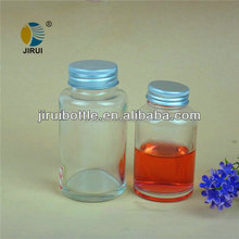 90ml & 150ml pill of glass bottle with aluminum cap