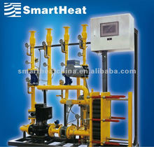 China DHW SmartHeat Plate Heat Exchanger System for Domestic Hot Water:Water-Water