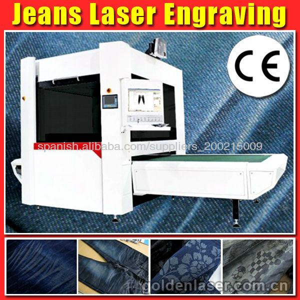 Máquina de grabado láser Jeans