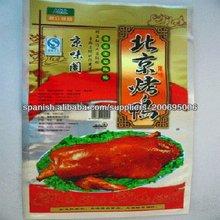 bolsa de envasado (de fábrica) para los distintos alimentos