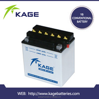 12N10-3B 12V10Ah flooded dry charged motorcycle battery