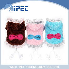 New style winter princess eco-friendly dog clothes