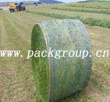 hay bale net wrap, white color, virgin material