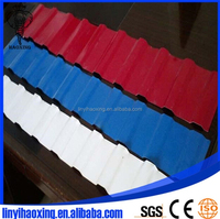 Building Materials colored glazed cheap metal roof tiles with competitive price
