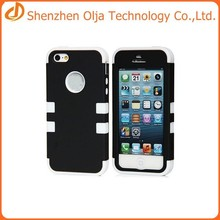 Shockproof case for iphone 5,for apple iphone 5 case,silicone mobile case for iphone 5 cover