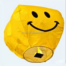 Factory Wholesale Eco friendly wire free 100 sky lantern