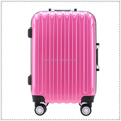 4 pcs real button aluminum trolley luggage