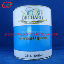 6Tin/A10 Canned slices apple solid pack apple
