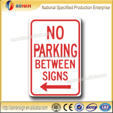 NO PACKING BETWEEN SIGNS Aluminum Reflective NO PACKING international traffic sign Direction