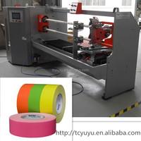 YU-701 single shaft /foam bandage athletic pu foam tape/Rigid strapping tape cutting machine