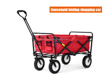 Click to view fold in second collapsible shopping trolley