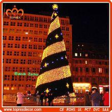 Alibaba express china glass christmas tree