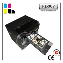 Digital a3 size 6 color UV printing machine for hard objects