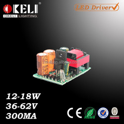 12-18W Constant Current LED Driver For Down Lights