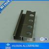 Movement Joints and Cove-shaped aluminum tile trim Profiles