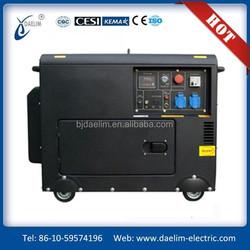 Hot Sale! 5kw/5.5kva Used Diesel Generators In Family