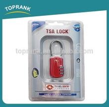 TOPRANK combination tsa lock luggage, approved TSA digital combination lock, tsa luggage lock combination