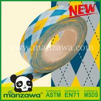 Manzawa polka dots and stripes washi tape