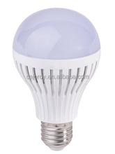 2015 New design super heat dissipation high cost effective 7/9/12W plastic E27 led bulb