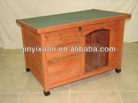 wooden pet house with Adjustable waterproof plastic feet/wooden dog house/wooden dog kennel