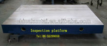 Cast Iron Surface plate inspection table