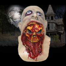 X-MERRY 2015 Canival Realistic Awesome Mask adult head latex rubber halloween horror mask