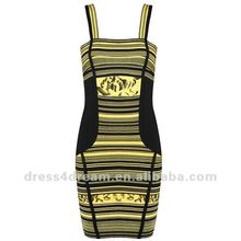 Evening plus plus size bandage dress in rayon and spandex