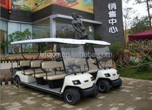 Battery 11 Seater Electric Sightseeing Car For Sale LT-A8+3
