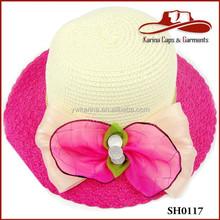 hot ladies straw hats brim summer beach sun hat floppy elegant