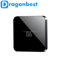 Android 4.4 H.265 Quad Core 1GB Ram and 8GB Rom receptor tv android with Bluetooth google tv box s6 wholesale set top box