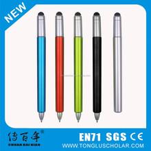 Twist mechanism ball pen with stylus