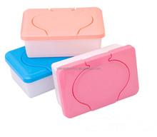 Custom Plastic Baby Wipe Cases