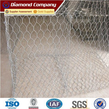 2015 hot sell galvanized stone cage (direct factory)
