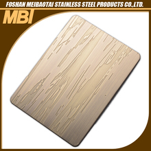 2.0mm etching stainless steel low cost wall panels