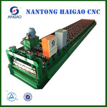 HGYX18-175-1050B Single Layer CNC Color Steel roll forming machine /roof tile press machine