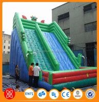 2015 new kids playground amusement toys inflatable stair slide