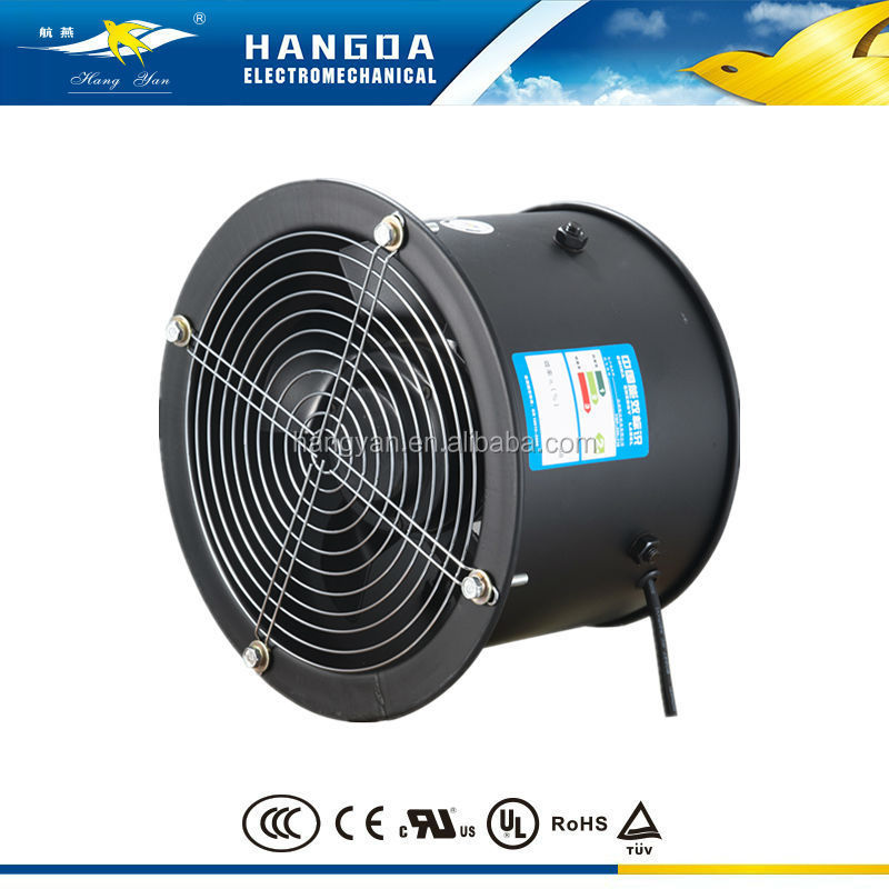 Axial Flow Blower : Wall air suction and blower axial exhaust fan