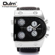 2015 hotsale oulm watch, cheap alloy wristwatch, factory price cheap watch