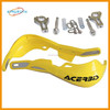 motorcycle factories spare parts china, dirt bike parts CNC alloy yellow colorful scooter hand guard
