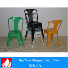 Barato silla de comedor de metal TMC-003