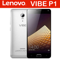 WHOLESALE Original Lenovo Vibe P1 Mobile Phone 4G LTE Android 5.1 Octa Core 5.5 Inch FHD Fingerprint NFC 3GB RAM 16GB ROM 13.0MP