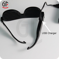 Giveaways Patent Product Grazy Party Favors Flashing Music Activated Blinking Sunglasses
