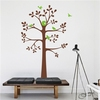 Colorcasa new products vinyl wall sticker family tree art home removeable wall decal art home decor for living room(ZY8454B)