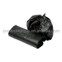 plastic black garbage bags carrier handle environmental strong wholesale