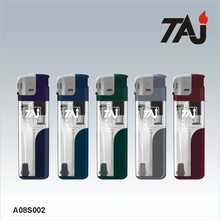 TAJ Brand cigarette lighter with torch light