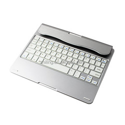 for apple bluetooth keyboard for ipad air Rotatable Aluminum tablet case