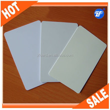 White pvc cards two side printable both side tray for epson on sale