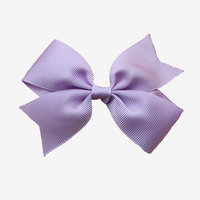 Hot sale style outdoor decorative christmas polyester grosgrain ribbon bow