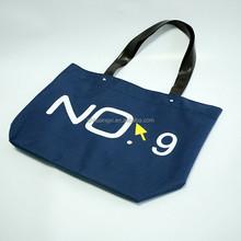 Plain style small jute beach bag jute bag with zipper