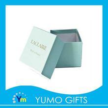 sky blue luxury ear stud gift paper box for wedding present sale